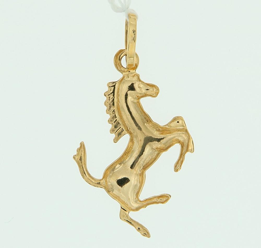Ciondolo Cavallino Rampante Oro