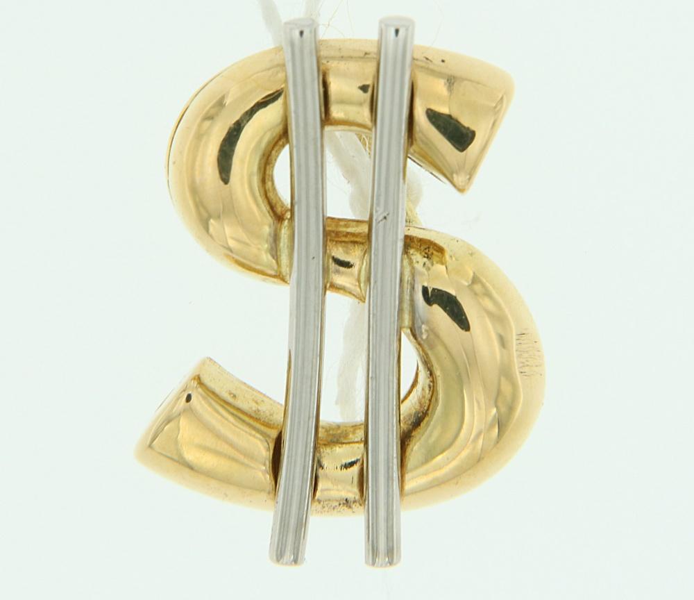 Ciondolo Dollaro Oro
