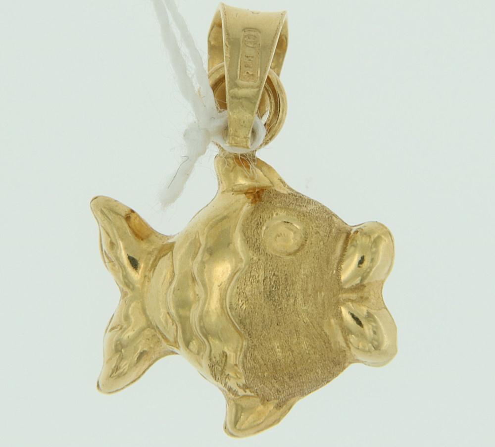 Ciondolo Pesce oro