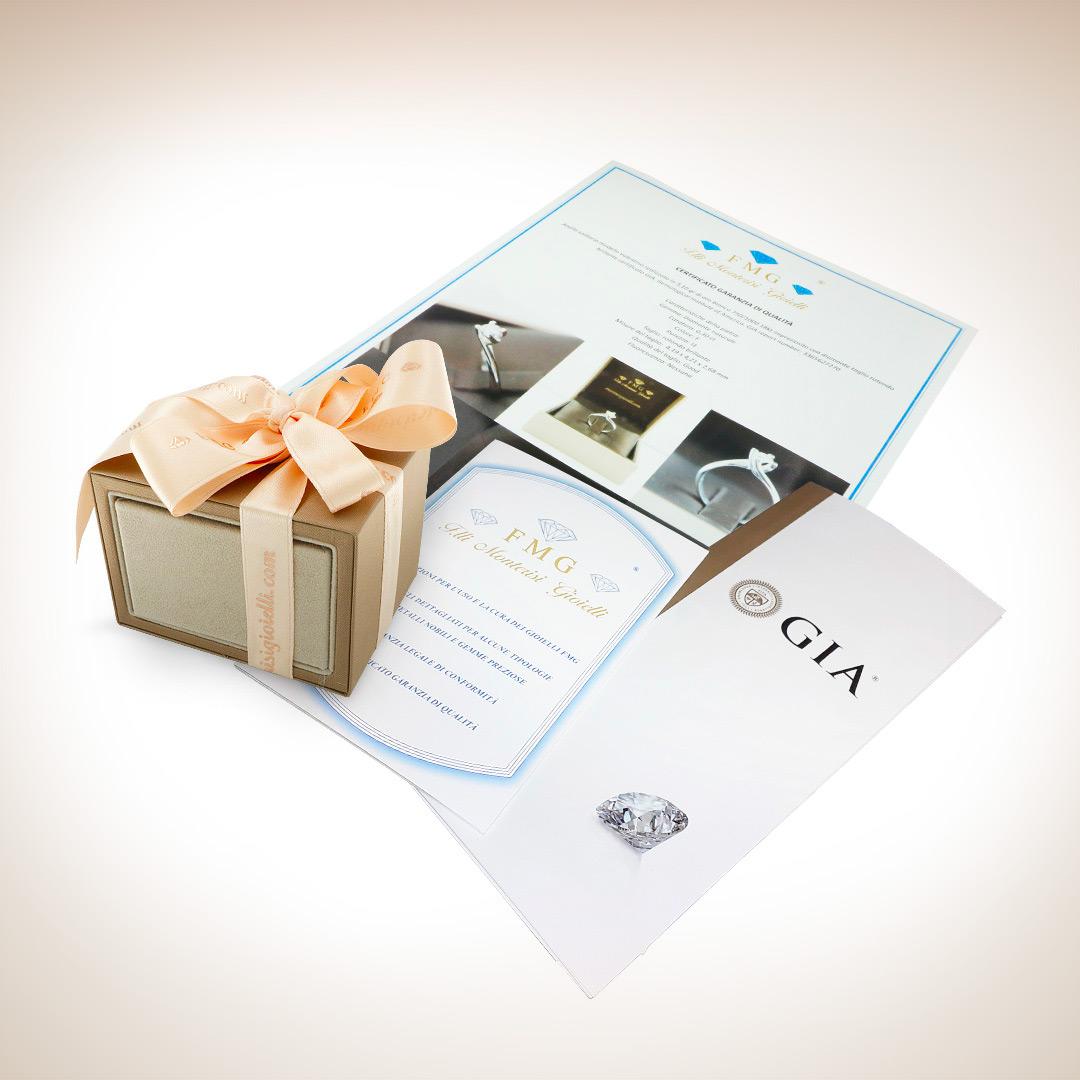 cofanetto confezione regalo con certificati